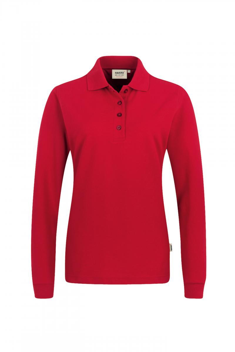 Damen Longsleeve-Poloshirt Mikralinar Hakro 215