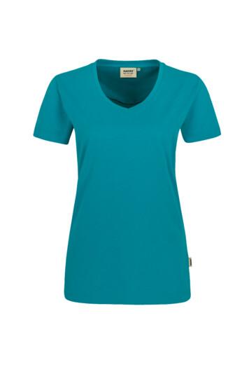 Damen-V-Shirt Mikralinar Hakro 181