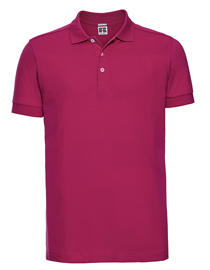 Men`s Fitted Stretch Polo  Z566