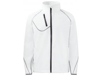 Softshell Jacke mit Kontrastelementen