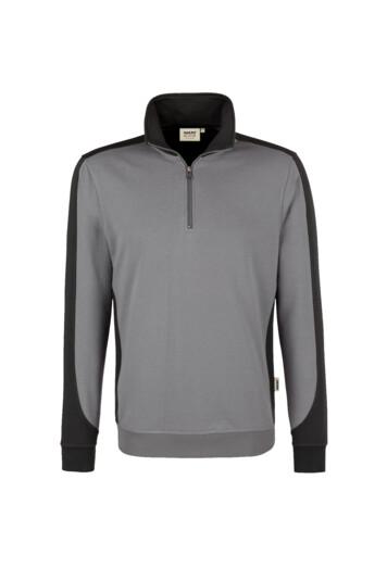 Zip-Sweatshirt Contrast Mikralinar Hakro 476